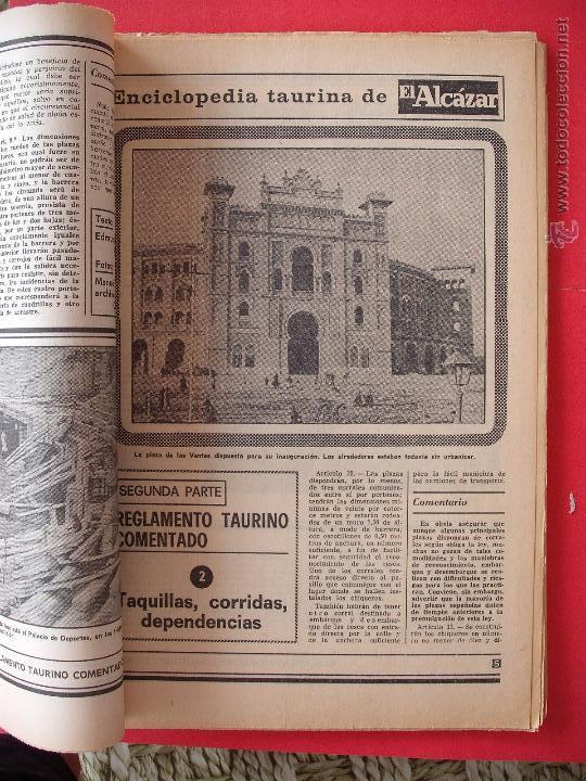 Carteles Toros: ENCICLOPEDIA TAURINA EL ALCAZAR SEGUNDA PARTE - Foto 2 - 51539477