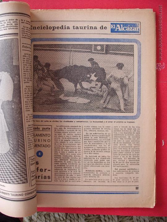 Carteles Toros: ENCICLOPEDIA TAURINA EL ALCAZAR SEGUNDA PARTE - Foto 4 - 51539477