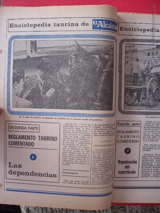 Carteles Toros: ENCICLOPEDIA TAURINA EL ALCAZAR SEGUNDA PARTE - Foto 6 - 51539477