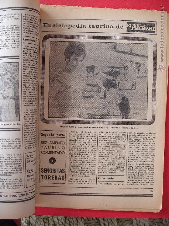 Carteles Toros: ENCICLOPEDIA TAURINA EL ALCAZAR SEGUNDA PARTE - Foto 8 - 51539477