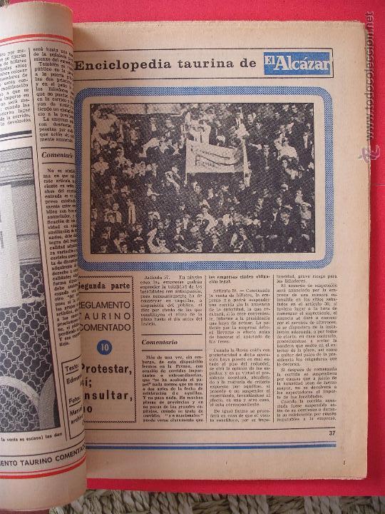 Carteles Toros: ENCICLOPEDIA TAURINA EL ALCAZAR SEGUNDA PARTE - Foto 10 - 51539477