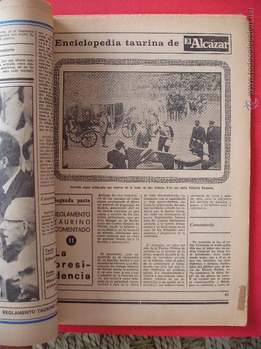 Carteles Toros: ENCICLOPEDIA TAURINA EL ALCAZAR SEGUNDA PARTE - Foto 11 - 51539477