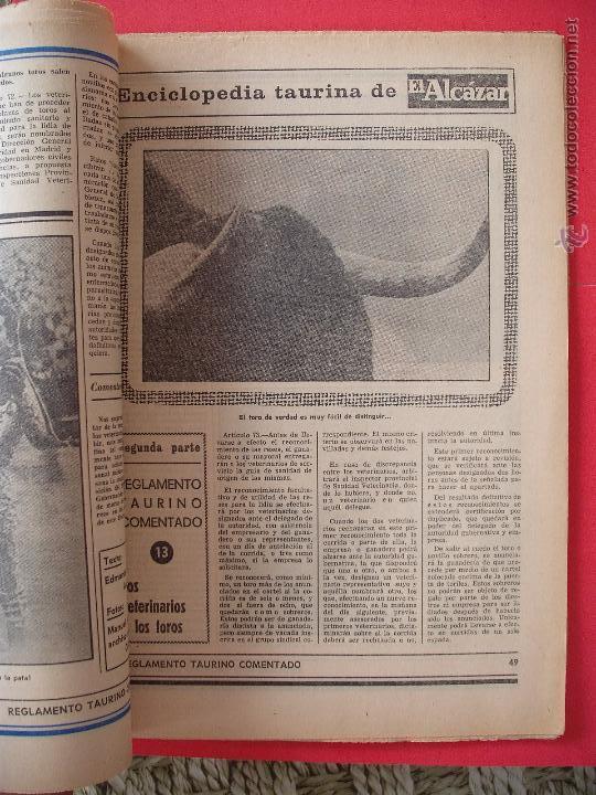 Carteles Toros: ENCICLOPEDIA TAURINA EL ALCAZAR SEGUNDA PARTE - Foto 13 - 51539477
