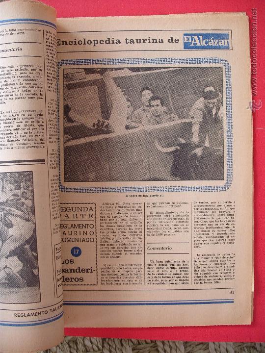 Carteles Toros: ENCICLOPEDIA TAURINA EL ALCAZAR SEGUNDA PARTE - Foto 17 - 51539477