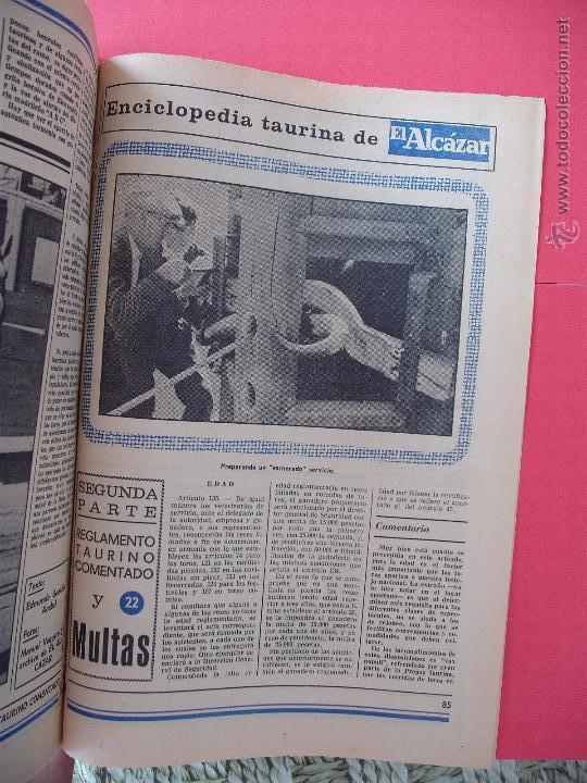 Carteles Toros: ENCICLOPEDIA TAURINA EL ALCAZAR SEGUNDA PARTE - Foto 22 - 51539477