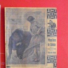Carteles Toros: PROGRAMA TAURINO - PLAZA DE TOROS DE CORDOBA 1946. Lote 51542106