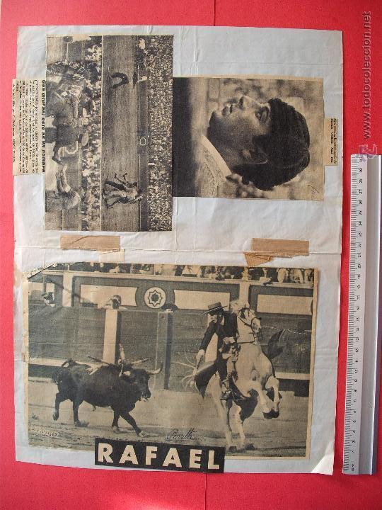 Carteles Toros: CARTEL DE LA PROGRAMACION - PLAZA DE TOROS DE MALAGA 1968 - Foto 2 - 51615705