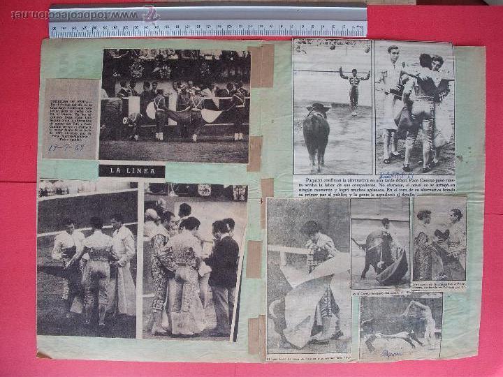 Carteles Toros: CARTEL PROGRAMACION - PLAZA DE TOROS DE SEVILLA 1969 - Foto 2 - 51673514
