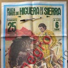 Carteles Toros: CARTEL DE TOROS AÑO 1989 CURRO ROMERO BOHÓRQUEZ LITRI PARADA PUERTA MANILI TAUROMAQUIA LÓPEZ CANITO. Lote 53284864