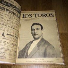 Carteles Toros: LOTE 21 LOS TOROS REVISTA TAURINA ENCUADERNADOS NºS 7, 8, 9, 10, 11,12, 13,14, 15, 16, 17, 18, ETC.. Lote 54654681