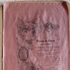 Carteles Toros: CARTEL DE TOROS DE MADRID. 17 DE JUNIO 1894. BENEFICENCIA. MAZZANTINI, GUERRITA, REVERTE, A. FUENTES. Lote 55228652