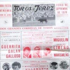 Carteles Toros: CARTEL DE TOROS DEL AÑO 1970. Lote 55820929