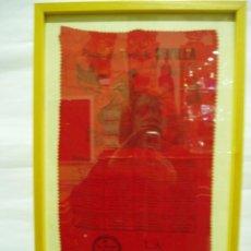 Carteles Toros: CARTEL DE SEDA PLAZA DE TOROS DE SEVILLA .FERIA DE ABRIL 2003, ENRIQUE PONCE, MORANTE DE LA PUEBLA,. Lote 56162089