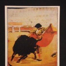 Carteles Toros: CARTEL DE TOROS GRANDIOSA CORRIDA DE LA ASOCIACION DE PRENSA DE ZARAGOZA 1937. Lote 56962360