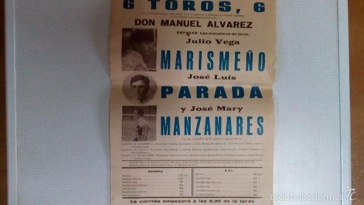 Carteles Toros: Cartel de toros de Sanlucar año 1977 - Foto 3 - 56927720