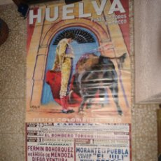Cartazes Touros: CARTEL TOROS MURAL HUELVA - COLOMBINAS 2010. Lote 81974662
