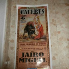 Carteles Toros: CARTEL DE TOROS PLAZA DE CACERES , 2010. Lote 57281154