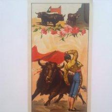 Carteles Toros: TOROS, CARTEL TAURINO SIN TEXTO, LITOGRAFIA ORTEGA VALENCIA 1959. Lote 57346966