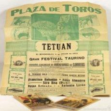 Carteles Toros: LP-268 - LOTE DE 3 CARTELES TAURINOS. (VER DESCRIP). VALENCIA-MADRID. 1933-1940.. Lote 57379150