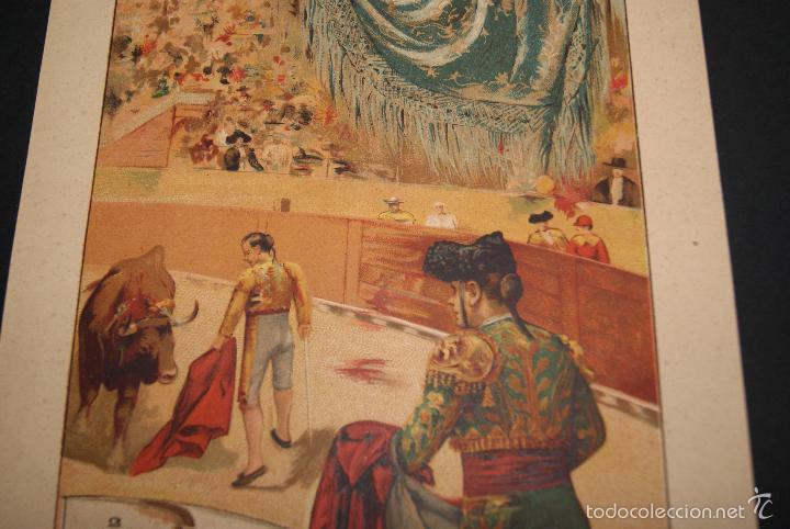 Carteles Toros: CARTEL DE TOROS DE PORTUGAL SERRA DO PILAR 10 AGOSTO 1902 - Foto 2 - 57558884