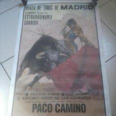 Carteles Toros: CARTEL CORRIDA DE TOROS .. Lote 57586974