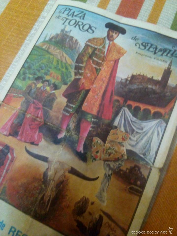 Carteles Toros: Catel de manos feria de abril 1978 domingo de resurreccion - Foto 2 - 59674903