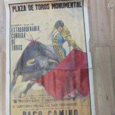 Carteles Toros: LOTE DE DOS CARTELES DE TOROS -. Lote 60620635