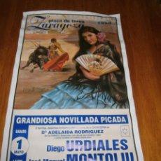 Carteles Toros: ((CARTEL TAURINO))-PLAZA DE TOROS DE ZARAGOZA (1999). Lote 67527629