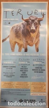 CARTEL TOROS MUERTE VICTOR BARRIO (Coleccionismo - Carteles Gran Formato - Carteles Toros)
