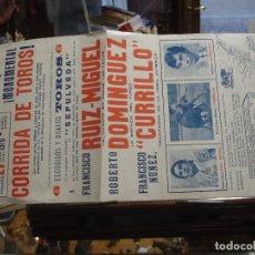 Carteles Toros: PLAZA DE TOROS VINAROZ 1976 - PORTAL DEL COL·LECCIONISTA *****. Lote 78832422