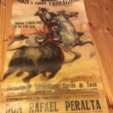 Carteles Toros: 7 CARTELES TOROS PLAZA TARRAGONA A?OS 68 69 70 CORDOBES PALOMO LINARES PAQUITO VIDRIE EL VITI POYATO. Lote 74215734