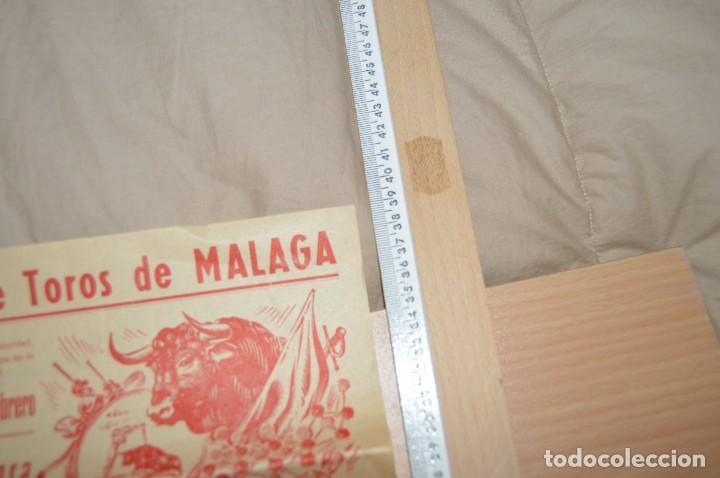 Carteles Toros: GRAN LOTE DE CARTELES DE TOROS - MÁLAGA 1958 - IMPRESIONANTE - MIRA LAS FOTOS - Foto 7 - 75256499