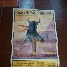 Carteles Toros: CARTEL DE TOROS,FERIA DE ABRIL 1984,SEVILLA. Lote 77556781