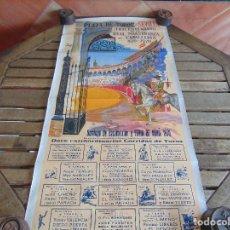 Carteles Toros: CARTEL PLAZA DE TOROS DE SEVILLA TRICENTENARIO DE LA REAL MAESTRANZA DE CABALLERIA 1670 1970 . Lote 79813321