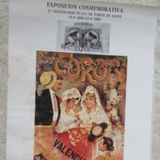 Carteles Toros: CARTEL DE TOROS. Lote 80418997