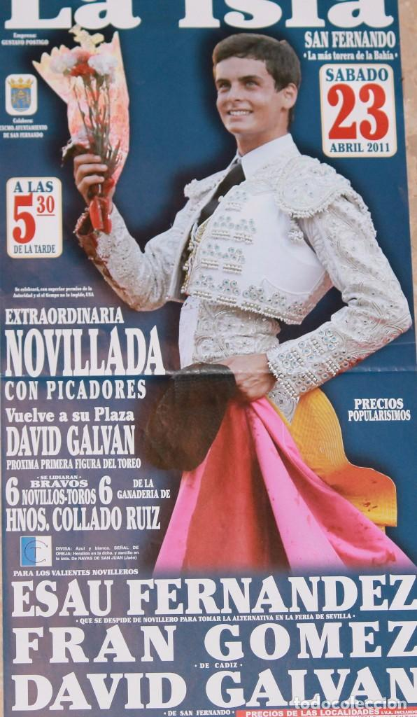 CARTEL TOROS SAN FERNANDO (Coleccionismo - Carteles Gran Formato - Carteles Toros)