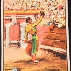 Carteles Toros: PLAZA DE TOROS DE LINARES 28 AGOSTO 1947, GITANILLO DE TRIANA, MANOLETE-DOMINGUIN,. Lote 81738672