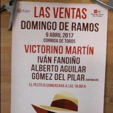 Carteles Toros: CARTEL TOROS MADRID VICTORINOS PRECIOSO. Lote 82538408