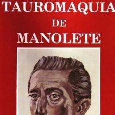 Carteles Toros: TAUROMAQUIA DE MANOLETE.(5 TOMOS). TOMOS:1, 2, 3, 4 Y 7. 5Y 6 NO PUBLICADOS. T-274. Lote 83839644