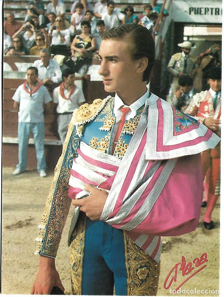 FOTO FIRMADA DEL TORERO MANOLO SANCHEZ (Coleccionismo - Carteles Gran Formato - Carteles Toros)