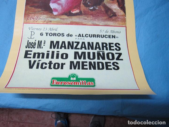 Carteles Toros: CARTEL TOROS FERIA ABRIL DE SEVILLA 23 ABRIL 1993 - Foto 3 - 87077300