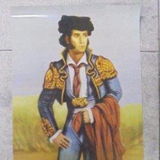Carteles Toros: CARTEL. MUSEO MUNICIPAL TAURINO. FRANCISCO MONTES PAQUIRO. CHICLANA. 68X31 CM. Lote 88313080