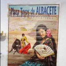 Carteles Toros: CARTEL TOROS FERIA DE ALBACETE 1996 MURAL GRANDE TORERO ESPLA LITROGRAFICO. Lote 88761832