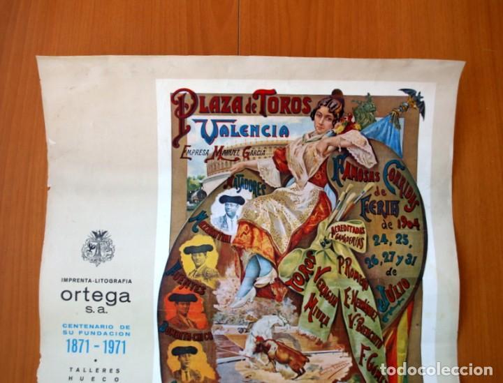 Carteles Toros: Cartel Taurino - Litografía ORTEGA - Tamaño 44x62 - Foto 2 - 89180032