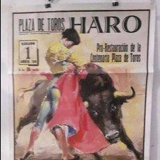 Carteles Toros: CARTEL TOROS HARO TORERO ESPLA LITROGRAFICO DE ORTEGA. Lote 89337528