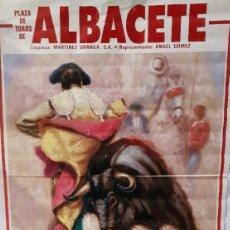 Carteles Toros: CARTEL TOROS ALBACETE FERIA 1992 ESPLA. Lote 89346984