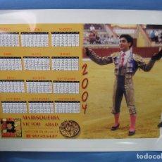 Carteles Toros: ALMANAQUE CARTEL PLAZA DE TOROS .MEDIDAS 43X33 CM. Lote 92200745