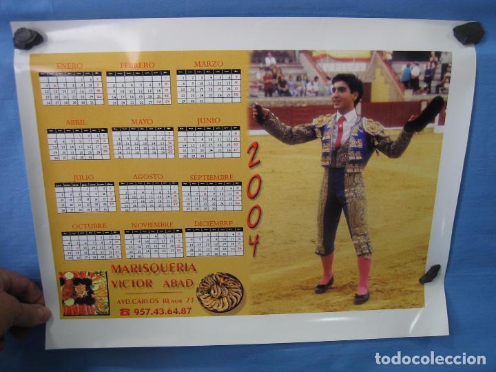 Carteles Toros: Almanaque Cartel plaza de toros .Medidas 43x33 cm - Foto 2 - 92200745