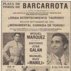 Carteles Toros: RECORTES CARTELES TOROS.. Lote 94747703