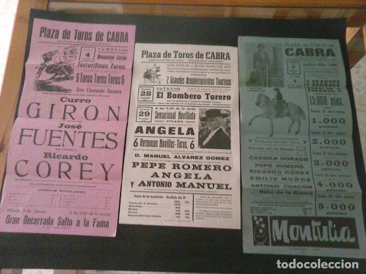 CARTELES DE TOROS VARIADOS (Coleccionismo - Carteles Gran Formato - Carteles Toros)